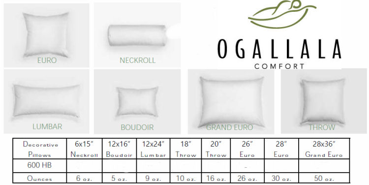 Ogallala Decorative Pillows