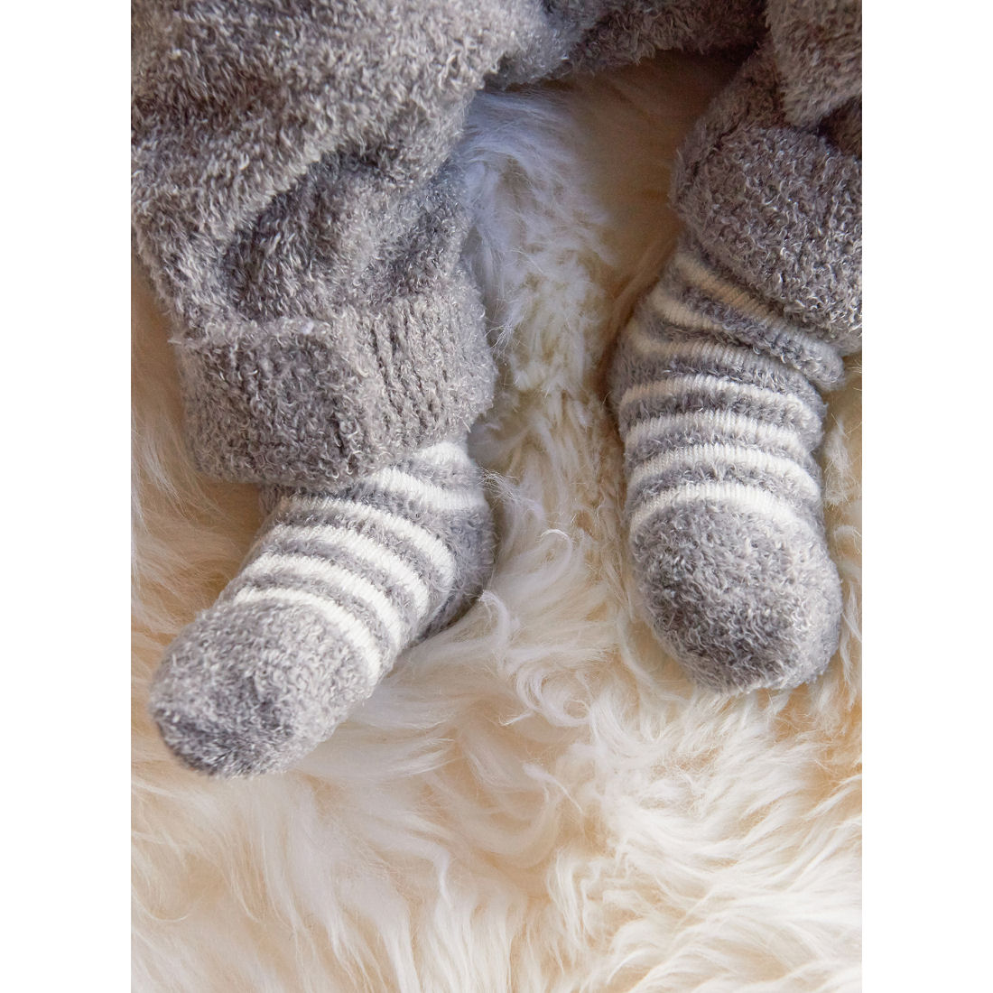Barefoot Dreams CozyChic Lite Infant Sock 3 Pack