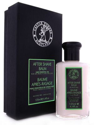 Castle Forbes Lime Essential Oil After Shave Balm 125m