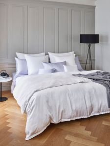 Schlossberg Urban Solid Micromodal Fitted Sheet made special for the DUXIANA Top Pad