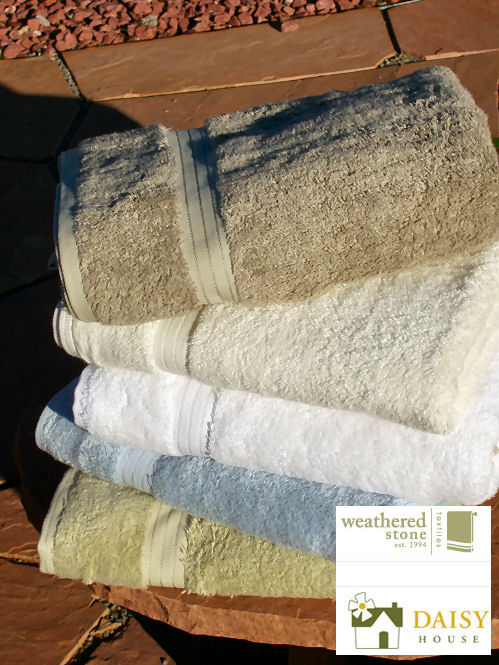 Daisy House Bamboo Towels Formerly Known as Weathered Stone