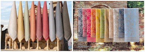 Tessitura Pardi Linen Towels made in Italy