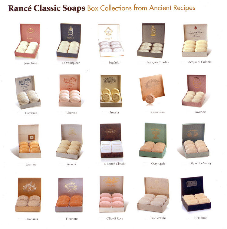 Rance Milled Soaps
